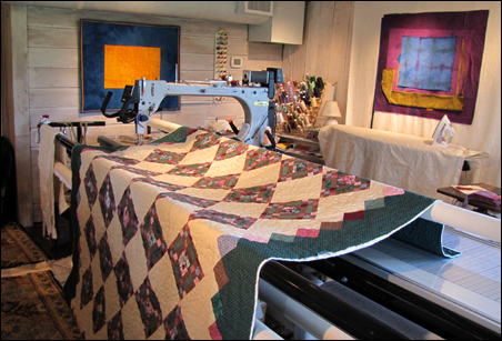 Longarm Quilting by Anne Alessi